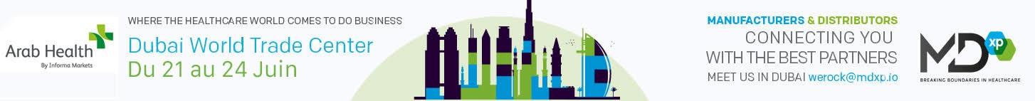 Rencontrez-nous à Dubai @ Meeting Arab Health Dubai 2021